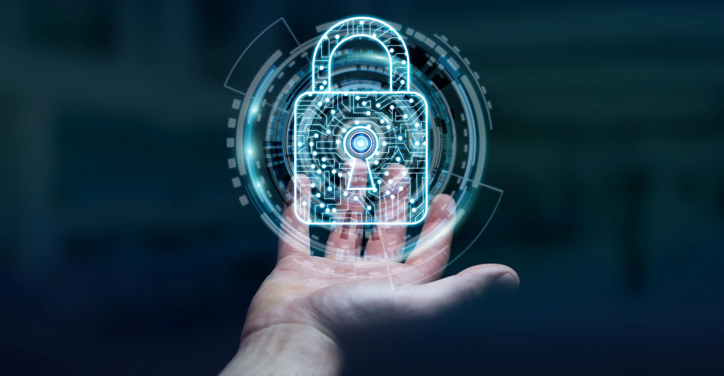 businessman-using-digital-padlock-to-secure-his-datas-3d-rendering